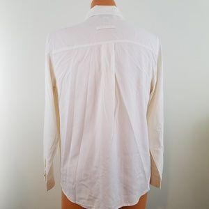 6e3710abfe1d9 Orvis Tops - ORVIS Womens 100% Silk Button Down Front Medium